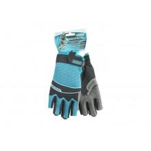 Перчатки комбинированные облегченные открытые пальцы AKTIV М GROSS