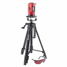 Уровень лазерный, 150 мм, штатив 1100 мм, самовырав., набор в пласт. кейсе MATRIX